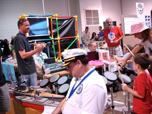 Maker Faire NC: Band Party