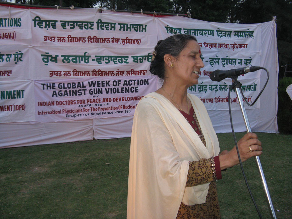 Week of Action Against Gun Violence 2011 - India_IDPD_ludhiana2