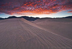 Eureka Dunes at Sunrise, Death Valley National Park, California