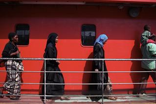 Image of  Likoni Ferry. ferry kenya muslim mombasa likoni