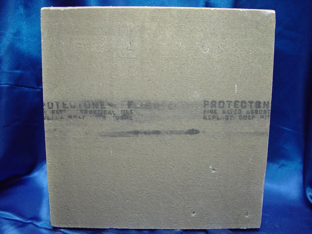 Protectone 1x1 Asbestos Ceiling Tile - Reverse Side | Flickr