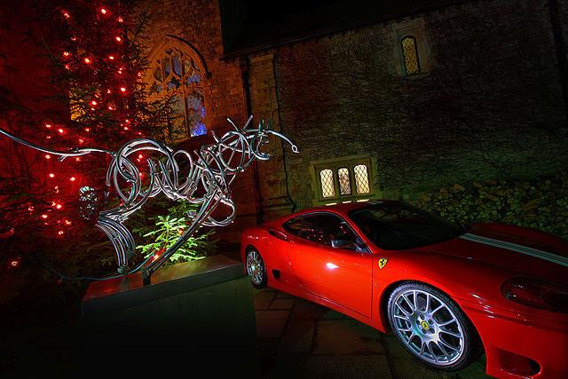 Bucks fizz attend ferrari christmas dinner 2010 flickr for Ferrari christmas