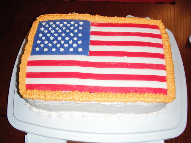 USA Flag Cake | Flickr - Photo Sharing!