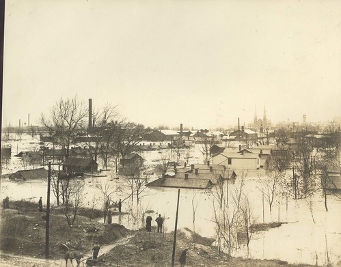 Catherine Street, Dayton, OH - 1913 Flood