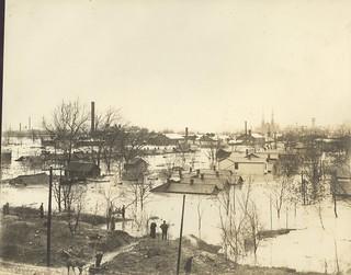 Catherine Street, Dayton, OH - 1913 Flood