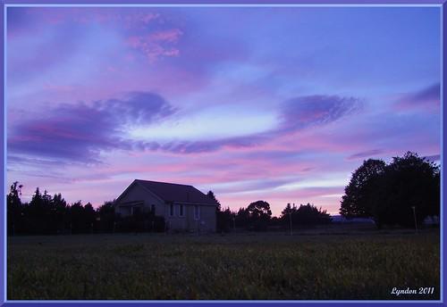 newzealand sunrise landscape nz greytown