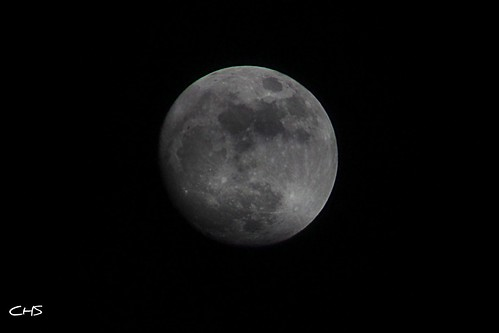 The Moon! 16th April 2011 by Stocker Images