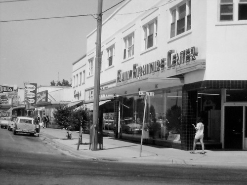 Gentile and Main streets in Layton, mid 1960s