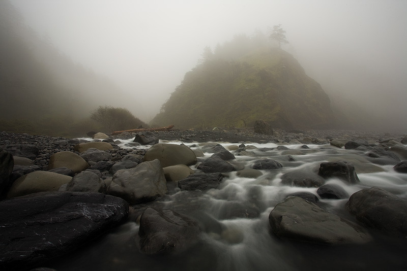 Shipman Creek Morning Fog by AlwaysJanuary (Randy)