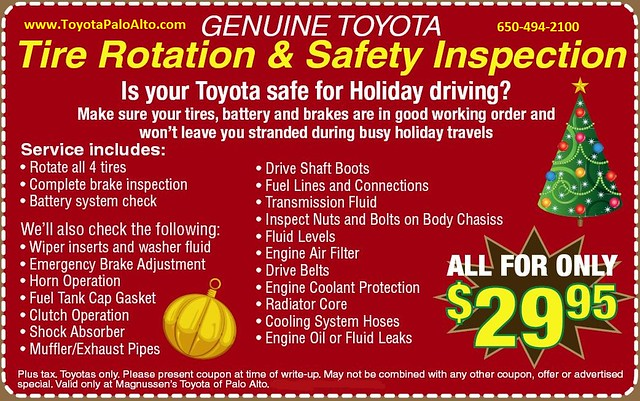 World Toyota Service Coupons