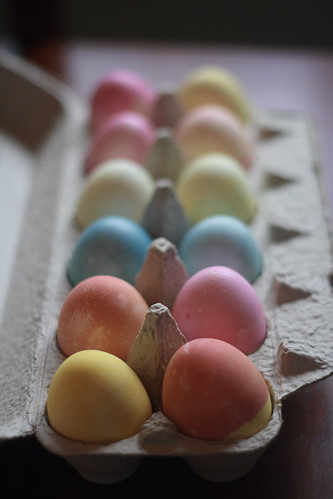 eggs (natural dyes)