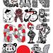 Ganbare Nippon Collab by OLLa-boku