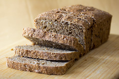 Vegan Nine Grain Whole Wheat Bread