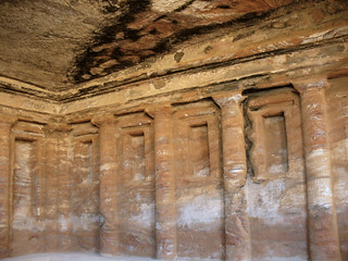 Triclinium at Petra, Jordan