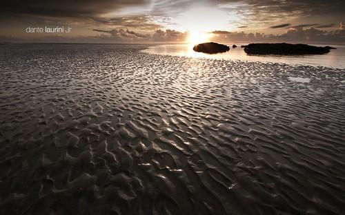 ocean sunset brazil praia beach brasil sunrise golden mar nikon ripples lowtide pernambuco maragogi alagoas coralcoast sigma1020 costadoscorais dantelaurinijr alagoass