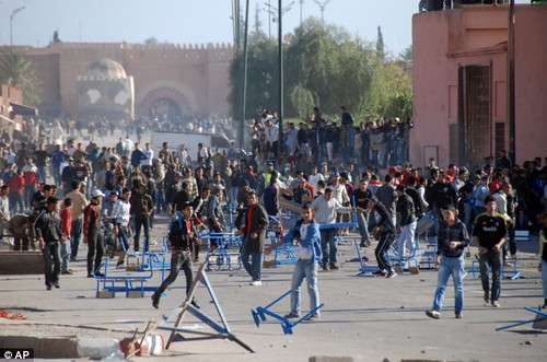 Demonstrations have been held against the monarchy in the North African state of Morocco. The country has been closely-allied with the United States for decades. by Pan-African News Wire File Photos
