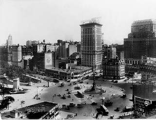 Columbus Circle Looking South c. 1921