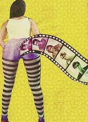 trousers(0.0), pink(0.0), pattern(1.0), textile(1.0), clothing(1.0), purple(1.0), yellow(1.0), leggings(1.0),