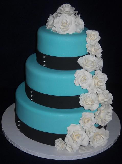Tiffany Blue Cake Images : Tiffany Blue Wedding Cake Flickr - Photo Sharing!