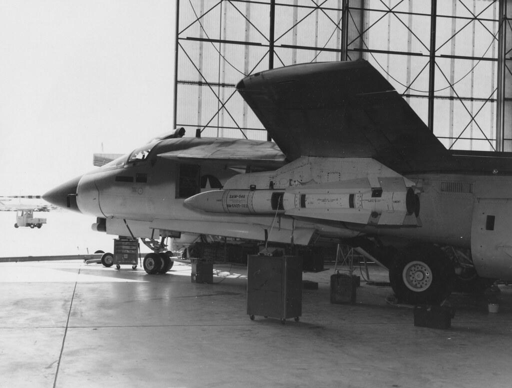 111B with XAIM-54 at Edwards - 3 April 1968 (178945 USAF) | Flickr ...