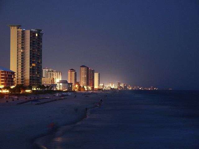 night city beach in - photo #40