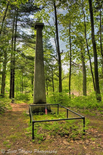 trees holiday newyork history forest woods flag trail american hero spy limestone revolutionarywar hdr memorialday oswego photomatix silastowne yourphototips scottthomasphotography mexicopointpark