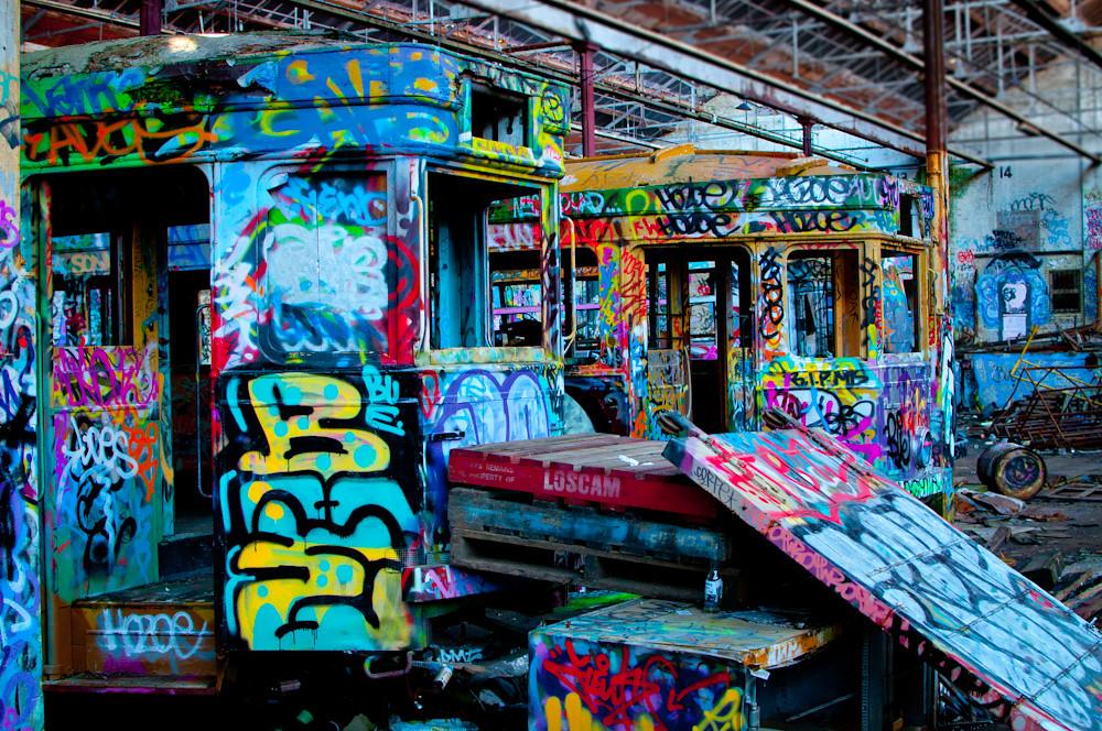 tranvías abandonados