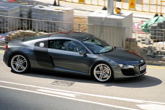 Audi   R8   V8   DS 360   Admiralty   Hong Kong   China