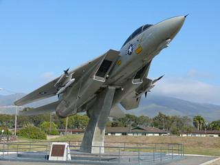 Grumman F-14A Tomcat auf Beton-Pylon