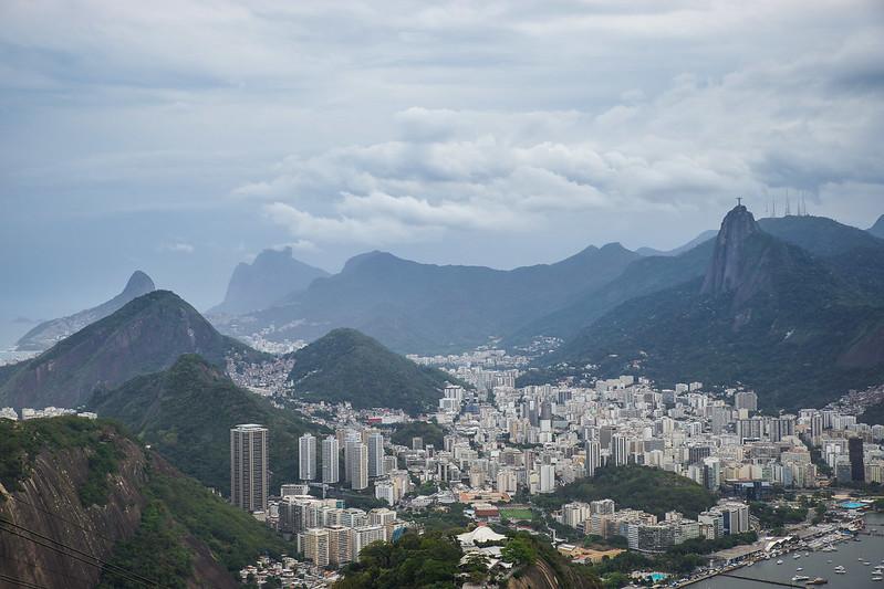 Statue  Rio de Janeiro Brazil Brasilia