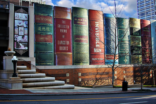 Public Library in Kansas City, KS by cassie shey