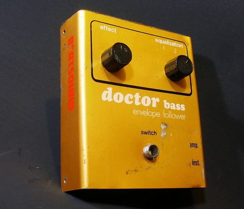 Doctor Bass  ( Envelope Follower ) Beatsound by Efectos Cluster