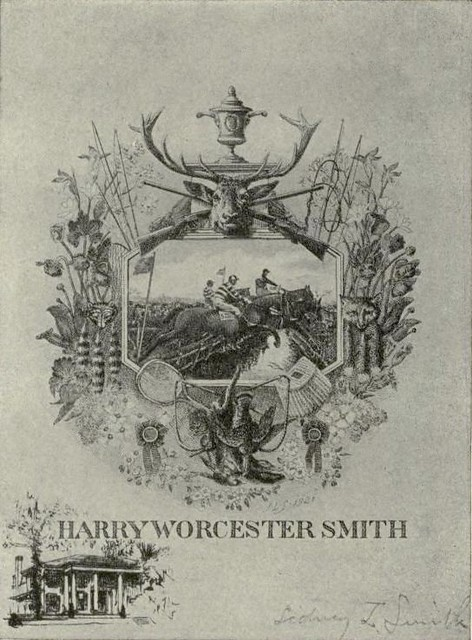 Bookplate of Harry Worcester Smith 1865-1945