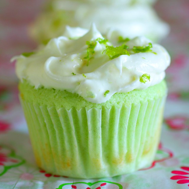 key lime cupcakes | Flickr - Photo Sharing!