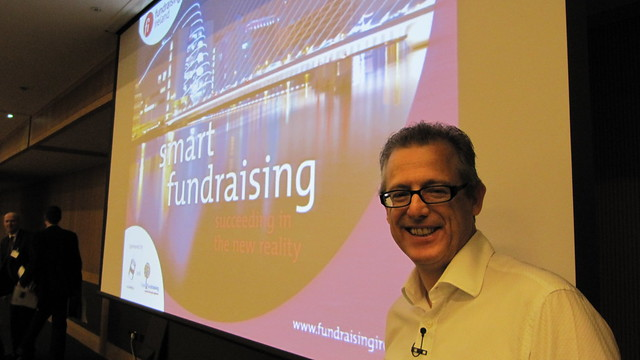 Tony Elischer at Ireland Fundraising Conference 2011