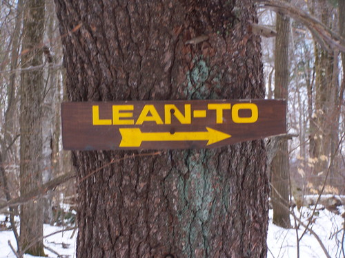 Lean-To Sign