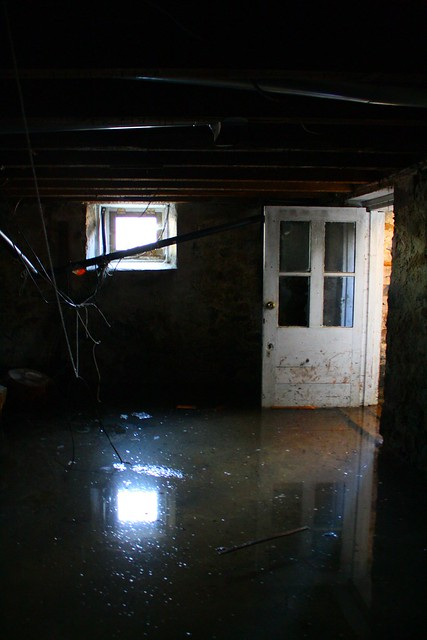 basement at high tide