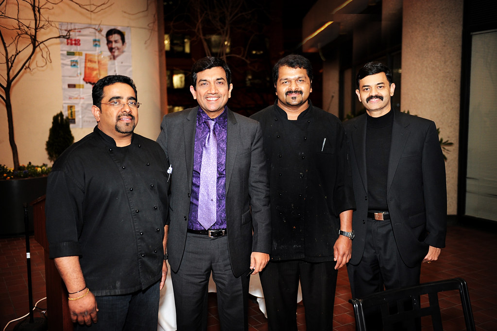 chef Sanjeev Kapoor with the Chefs of Indique Heights