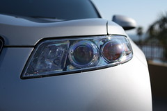 halogen headlights photo