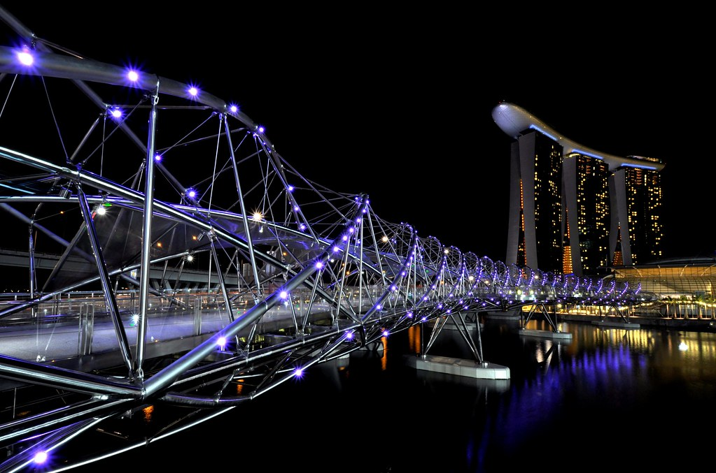 Helix bridge 螺旋桥 ...