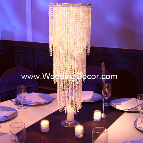 Acrylic Crystal Bead Chandeliers - Crystal Beaded Curtains