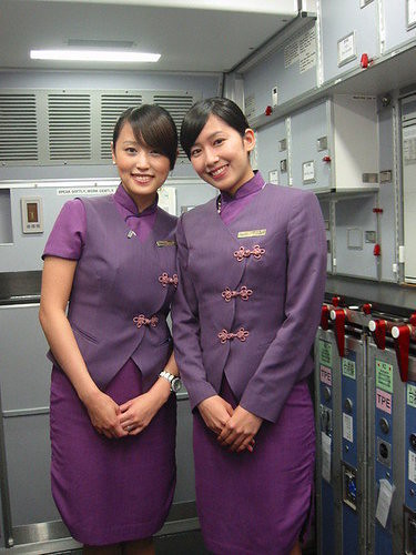 Flickriver Photoset China Airlines Crew By Myfreeco