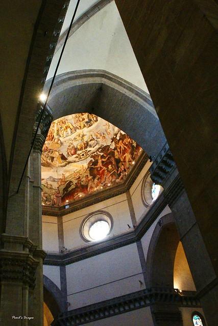 聖百花教堂 壁畫