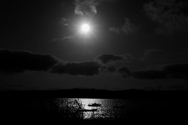 portugal soleil en noir et blanc