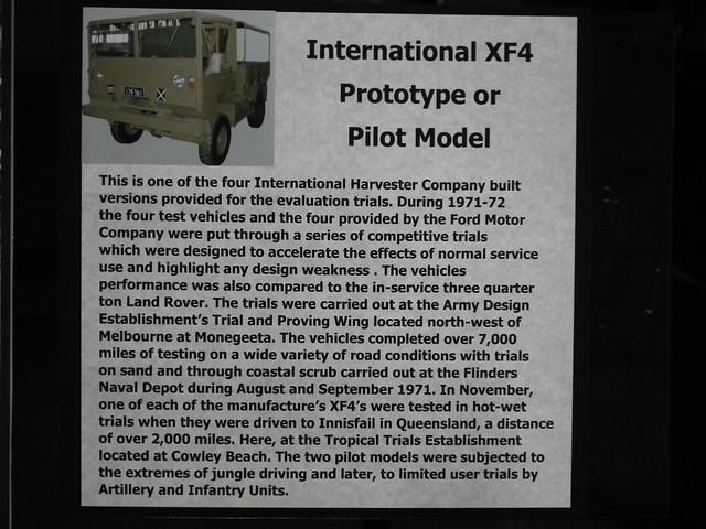 XF4 protoype truck - International Harvester