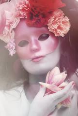 [フリー画像素材] 人物, 女性, 仮面・マスク ID:201112150800