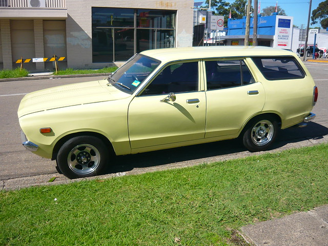 1976 Datsun 120Y station wagon - a photo on Flickriver