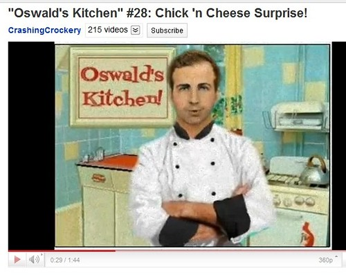Oswald's Kitchen: Lee speaks!