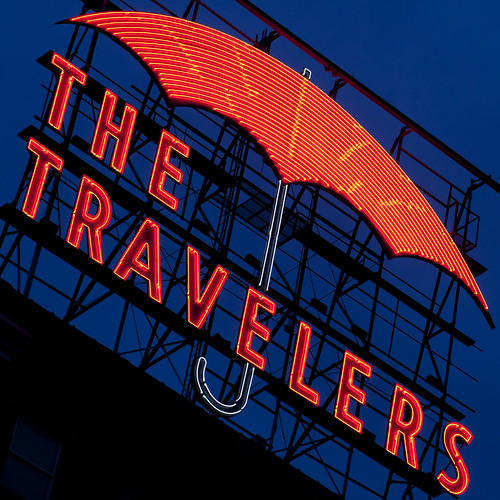 The Travelers Neon | 113/365 Explored