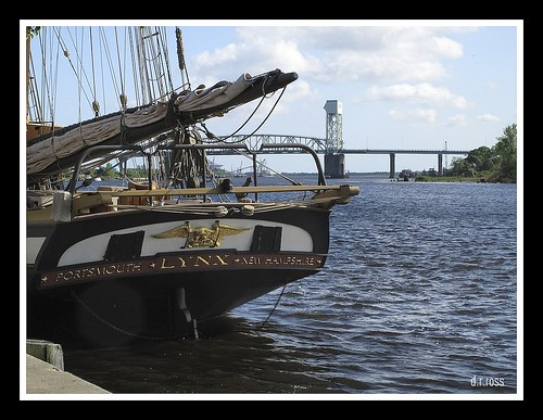 THE PRIVATEER LYNX TIED UP IN WILMINGTON NC